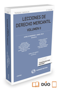 LECCIONES DE DERECHO MERCANTIL VOLUMEN II (PAPEL + E-BOOK).