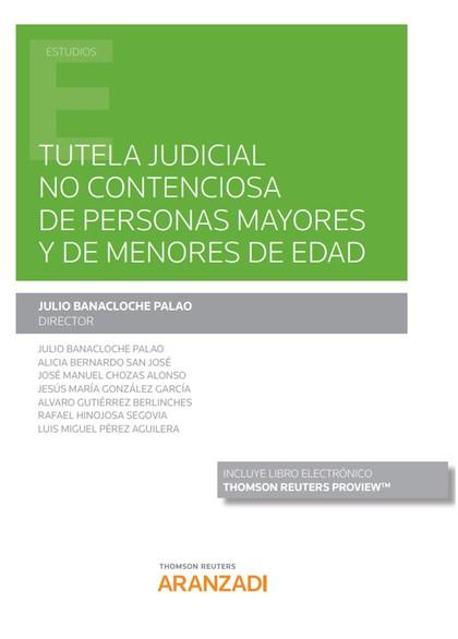 TUTELA JUDICIAL NO CONTENCIOSA PERSONAS MAYORES Y MENORES E.
