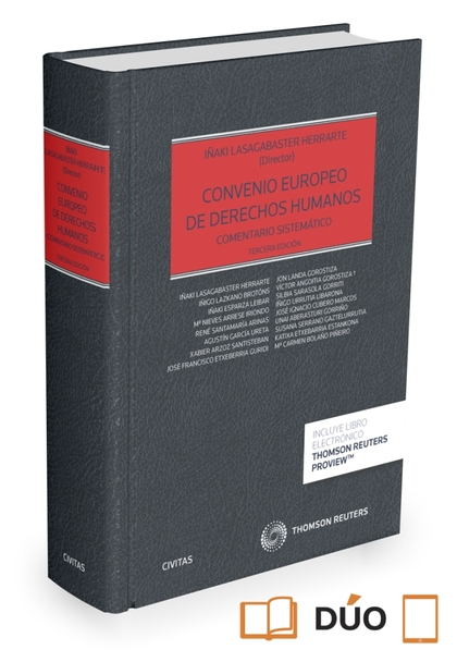 CONVENIO EUROPEO DE DERECHOS HUMANOS (PAPEL + E-BOOK).