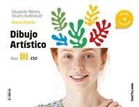CUADERNO PLASTICA, VISUAL Y AUDIOVISUAL DIBUJO ARTISTICO SERIE NUEVO DISEÑA NIVE