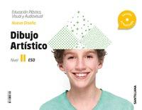 CUADERNO EDUCACION PLASTICA, VISUAL Y AUDIOVISUAL DIBUJO ARTISTICO SERIE DISEÑA