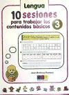 10 SESIONES PARA TRABAJAR LOS CONTENIDOS BÁSICOS. CUADERNO 3.