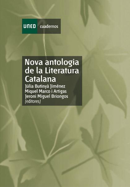 NOVA ANTOLOGIA DE LA LITERATURA CATALANA