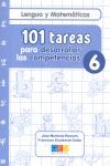 101 TAREAS PARA DESARROLAR LAS COMPETENCIAS. CUADERNO 6.