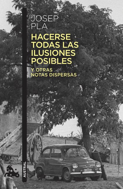 HACERSE TODAS LAS ILUSIONES POSIBLES. Y OTRAS NOTAS DISPERSAS. EDICIÓN DE FRANCESC MONTERO