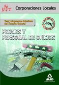 PEONES Y PERSONAL DE OFICIOS, CORPORACIONES LOCALES. TEST Y SUPUESTOS PRÁCTICOS DEL TEMARIO GEN