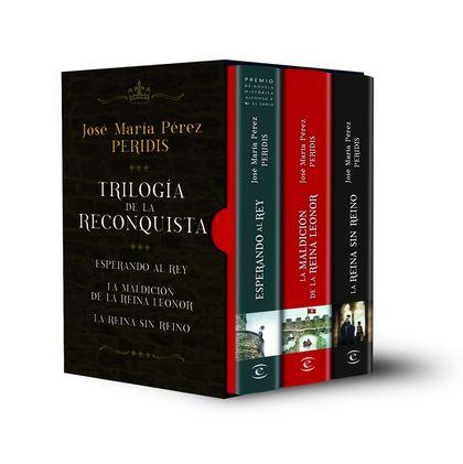 ESTUCHE TRILOGIA DE LA RECONQUISTA: ESPERANDO AL REY. LA MALDICION DE LA REINA L.