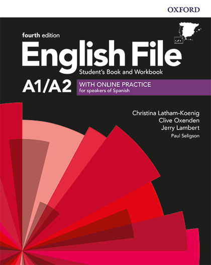 ENGLISH FILE ELEMENTARY STUDENT´S BOOK AND WORKBOOK KEY WITH ONLIBE PRACTICE FOU