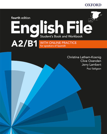ENGLISH FILE PRE-INTERMEDIATE STUDENTS BOOK AND WORKBOOK KEY WITH ONLINE PRACTIC