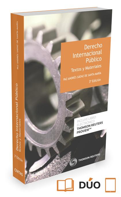 DERECHO INTERNACIONAL PUBLICO. TEXTOS Y MATERIALES