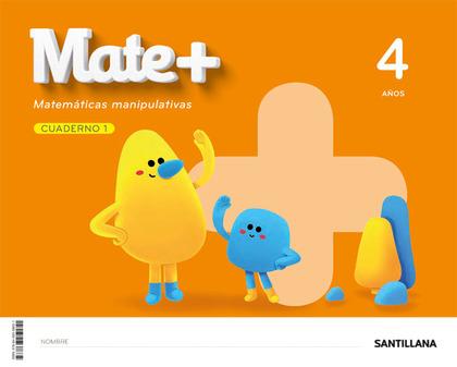 MATE+ MATEMATICAS MANIPULATIVAS 4 AÑOS.