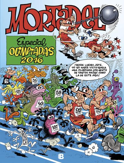 ESPECIAL OLIMPIADAS 2016.