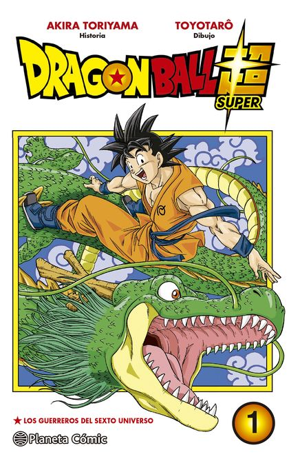 DRAGON BALL SUPER Nº 01.