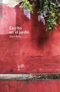ESCRITO EN EL JARDÍN.