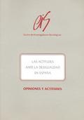 LAS ACTITUDES ANTE LA DESIGUALDAD EN ESPAÑA