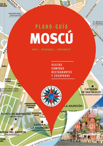 MOSCÚ (PLANO - GUÍA)                                                            VISITAS, COMPRA