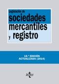 LEGISLACIÓN DE SOCIEDADES MERCANTILES Y REGISTRO