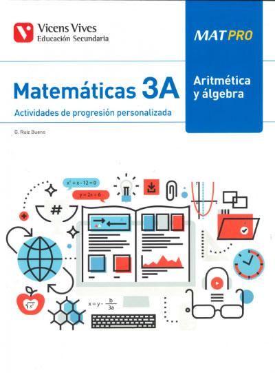 MAT PRO 3A ARITMETICA Y ALGEBRA.