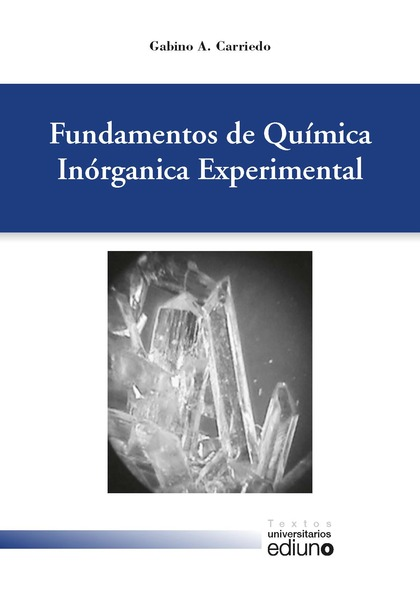 FUNDAMENTOS DE QUÍMICA INORGÁNICA EXPERIMENTAL