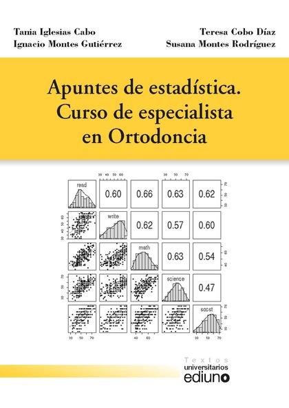 APUNTES DE ESTADÍSTICA. CURSO DE ESPECIALISTA EN ORTODONCIA.