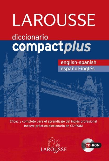 DICCIONARIO COMPACT PLUS ESPAÑOL-INGLÉS.