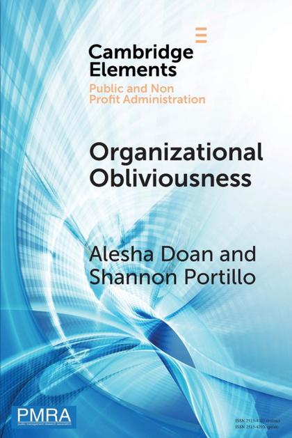 ORGANIZATIONAL OBLIVIOUSNESS