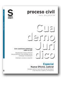 NUEVA OFICINA JUDICIAL : ESTUDIO SOBRE EL NUEVO DECRETO DEL SECRETARIO Y SUS RECURSOS, CUADROS