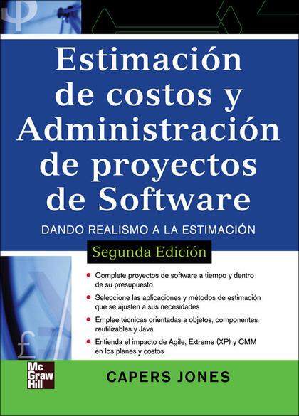 ESTIMACION DE COSTOS Y ADMINISTRACION DE PROYECTOS DE SOFTWARE