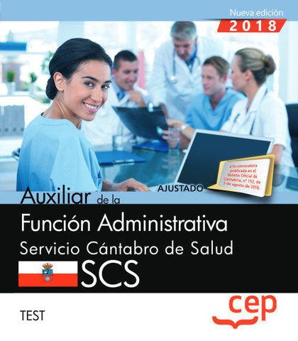 AUXILIAR FUNCION ADMINISTRATIVA SERVICIO CANTABRO TEST