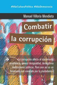 COMBATIR LA CORRUPCIÓN.