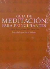 GUIA DE MEDITACION PARA PRINCIPIANTES.