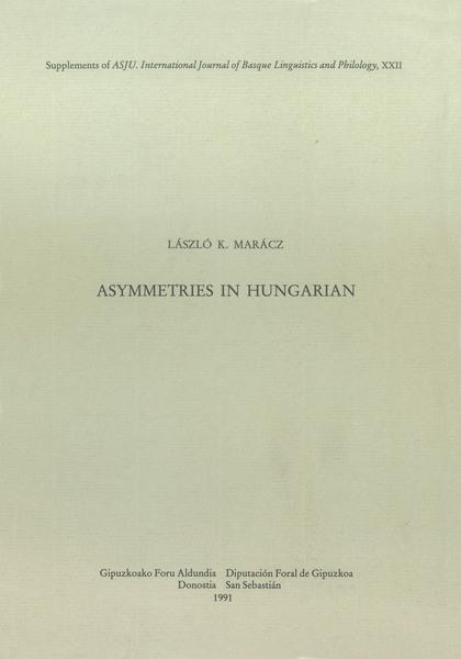 ASYMETRIES IN HUNGARIAN