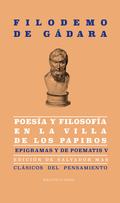 POESIA Y FILOSOFIA EN LA VILLA DE LOS PAPIROS.