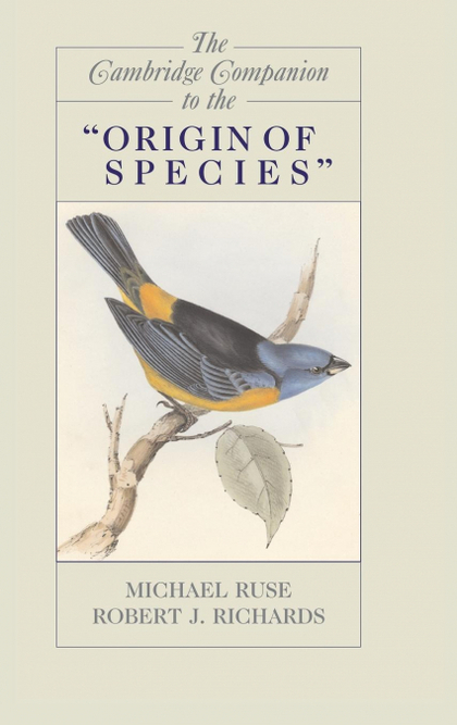 THE CAMBRIDGE COMPANION TO THE ´ORIGIN OF SPECIES´.