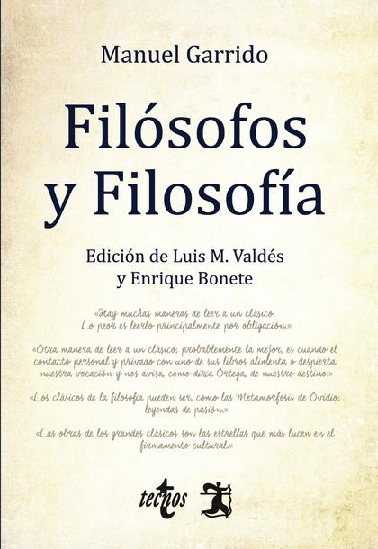 FILÓSOFOS Y FILOSOFÍA.