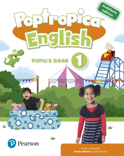 POPTROPICA ENGLISH 1 PUPIL´S BOOK PACK ANDALUSIA.