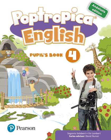 POPTROPICA ENGLISH 4 PUPIL´S BOOK ANDALUSIA + 1 CODE.