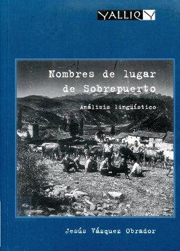 NOMBRES DE LUGAR DE SOBREPUERTO                                                 ANÁLISIS LINGÜÍ