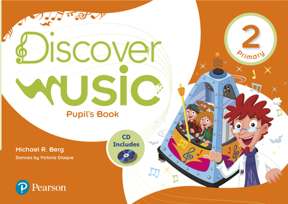 DISCOVER MUSIC 2 PUPIL´S BOOK PACK ANDALUSIA.