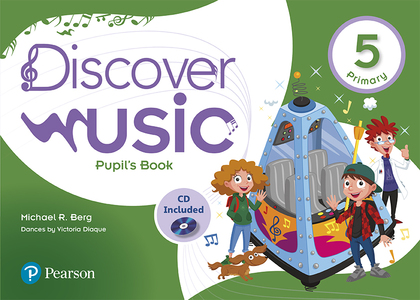 DISCOVER MUSIC 5 PUPIL´S BOOK PACK ANDALUSIA.
