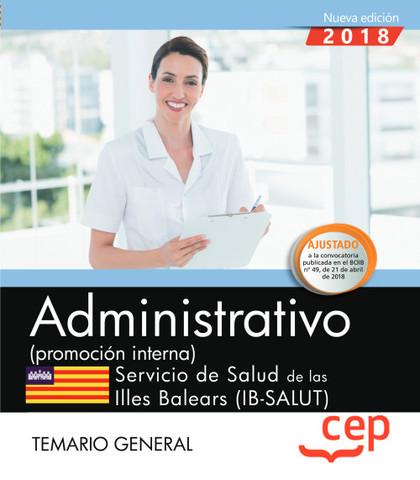 ADMINISTRATIVO (PROMOCIÓN INTERNA). SERVICIO DE SALUD DE LAS ILLES BALEARS (IB-S.