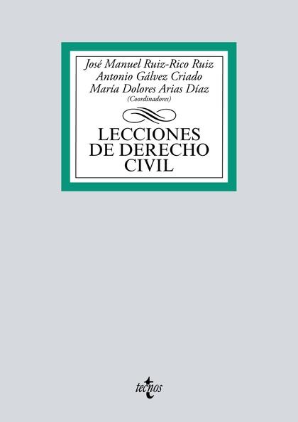 LECCIONES DE DERECHO CIVIL.