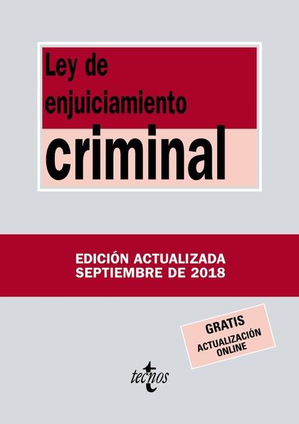 LEY ENJUICIAMIENTO CRIMINAL