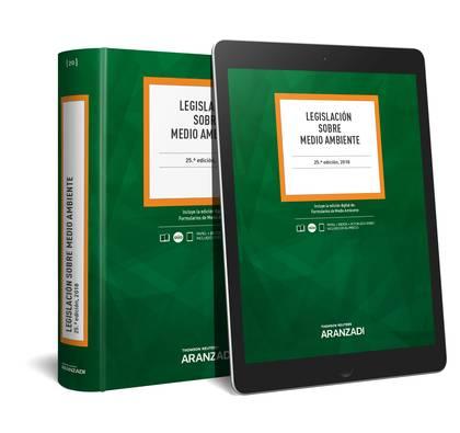 LEGISLACIÓN SOBRE MEDIO AMBIENTE (PAPEL + E-BOOK).