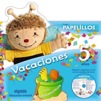 PAPELILLOS 5, EDUCACIÓN INFANTIL, 5 AÑOS. CUADERNO DE VACACIONES