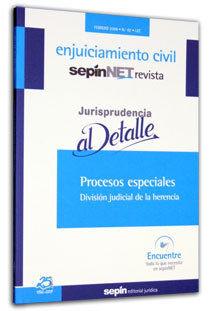 PROCESOS ESPECIALES : DIVISIÓN JUDICIAL DE LA HERENCIA