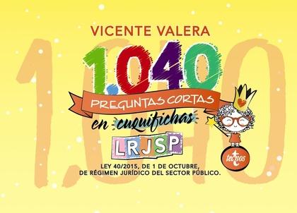 1040 PREGUNTAS CORTAS LRJSP