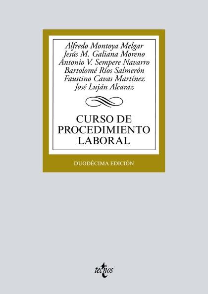 CURSO DE PROCEDIMIENTO LABORAL