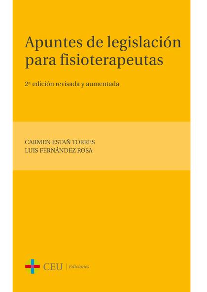 APUNTES DE LEGISLACIÓN PARA FISIOTERAPEUTAS