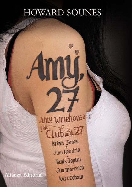 AMY 27 : AMY WINEHOUSE Y EL CLUB DE LOS DE 27